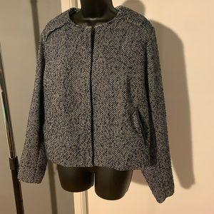 like new Apartment 9 blue/grey/white jacket (6/$14